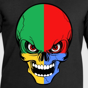 four colors skull Tee shirts - Sweat-shirt Homme Stanley & Stella