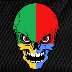 four colors skull Tee shirts - Sac à dos Enfant