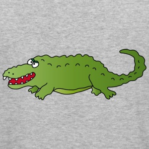 Crocodile Sweatshirts - Herre Slim Fit T-Shirt