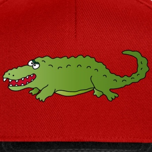Crocodile Polo Shirts - Snapback Cap