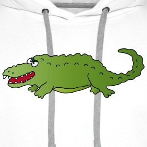 Crocodile T-Shirts - Men's Premium Hoodie