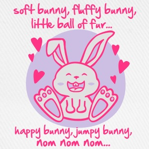 soft bunny, fluffy bunny, little ball of fur... T-shirts - Baseballkasket