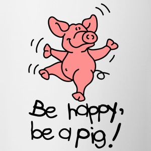 Be happy, be a pig! Ondergoed - Mok