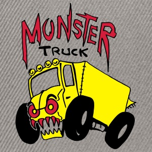 Camion monstre Tee shirts - Casquette snapback