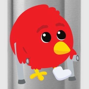 Hurted angry bird Bags  - Water Bottle