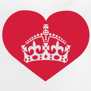 i love queen mom | crown | heart Shirts - Baby T-shirt