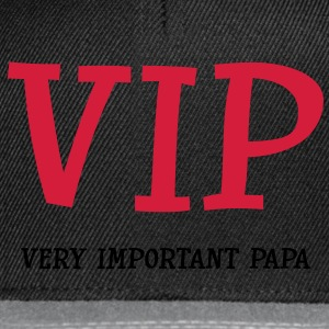 Very Important Papa :) Tee shirts - Casquette snapback