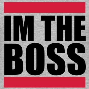 Im the Boss Sweat-shirts - Tee shirt près du corps Homme