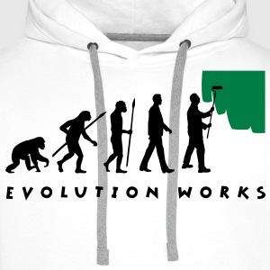 evolution_painter_042012_a_2c T-Shirts - Männer Premium Hoodie
