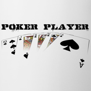Poker player pour fond clair - Tasse