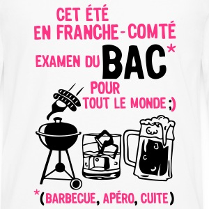 bac franche comte barbecue apero cuite biere Tee shirts - T-shirt manches longues Premium Homme