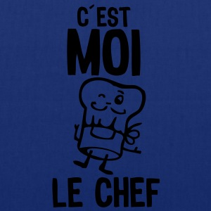 cest moi chef toque cuisinier cuisto Tabliers - Tote Bag