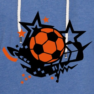 ballon football soccer stars504 Tee shirts Enfants - Sweat-shirt à capuche léger unisexe