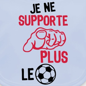 je ne supporte plus le football Tee shirts Enfants - Bavoir bio Bébé