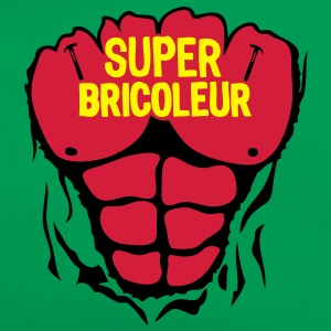 bricoleur super corps muscle bodybuildin Tee shirts - Sac Retro