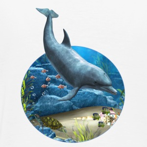 The world of the Dolphin - Männer Premium T-Shirt