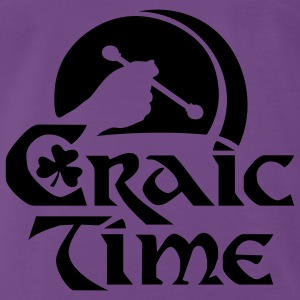 craic time - Premium T-skjorte for menn