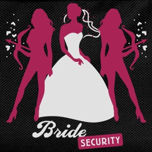 Bride - security - hen night - team T-Shirts - Kids' Backpack
