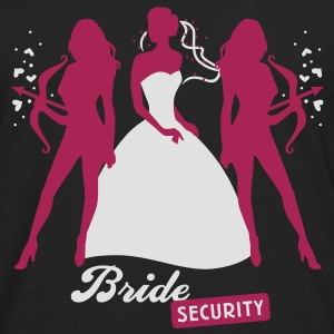 Bride - security - hen night - team T-Shirts - Men's Premium Longsleeve Shirt