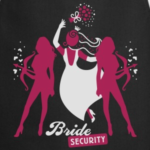 Bride - security - hen night - team T-Shirts - Cooking Apron