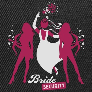Bride - security - hen night - team T-Shirts - Snapback Cap