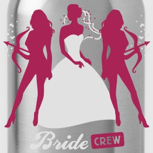 Bride - crew - hen night - security  T-Shirts - Water Bottle