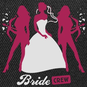 Bride - crew - hen night - security  T-Shirts - Snapback Cap