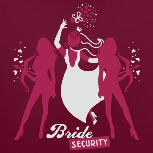 Bride - security - hen night - team T-Shirts - Contrast Colour Hoodie