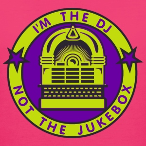 I'm the DJ - not jukebox (3, DDP) Taschen - Frauen Bio-T-Shirt