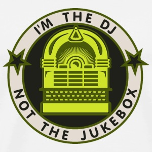 I'm the DJ - not jukebox (2, DDP) Buttons / Anstecker - Männer Premium T-Shirt