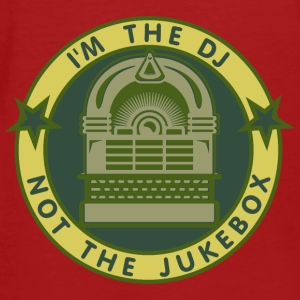 I'm the DJ - not jukebox (6, DDP) Kinder Pullover - Männer Bio-T-Shirt