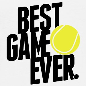 tennis - best game ever Mugs  - Men's Premium T-Shirt