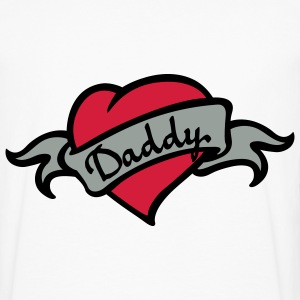 Love daddy Tee shirts - T-shirt manches longues Premium Homme