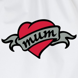 love mum - Turnbeutel