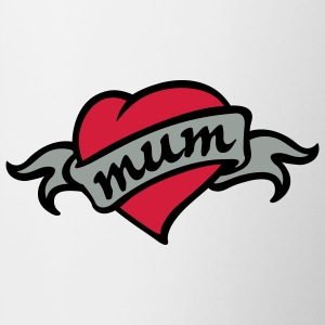 mum tattoo Camisetas - Taza