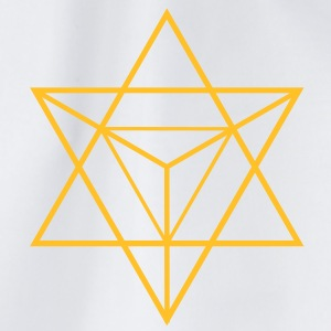 merkaba - flower of life T-shirts - Gymtas