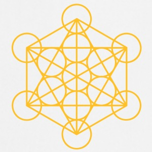 merkaba - flower of life Camisetas - Delantal de cocina
