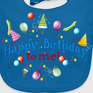 Happy Birthday to my! Kids' Shirts - Baby Organic Bib