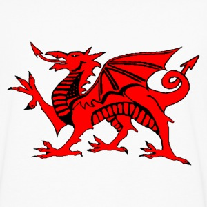 welsh red dragon uk gents boxing t-shirts - Men's Premium Longsleeve Shirt