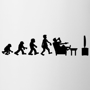 evolution_of_couch_potato Koszulki - Kubek