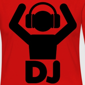DJ Hands Up T-Shirts - Women's Premium Longsleeve Shirt