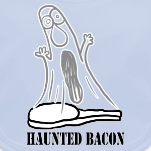 HAUNTED BACON Kids' Shirts - Baby Organic Bib