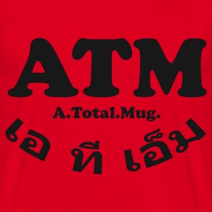 ATM - A Total Mug - Glow in the dark - Men's T-Shirt