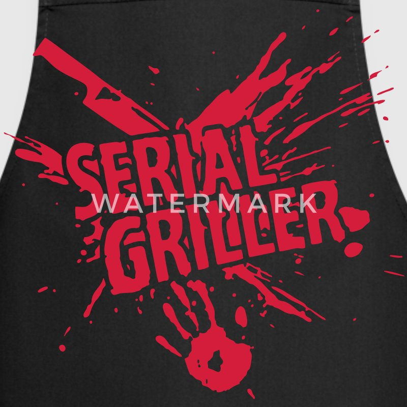 SERIAL GRILLER - BBQ  Aprons - Cooking Apron