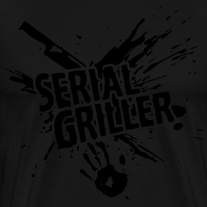 SERIAL GRILLER - barbecue Tabliers - T-shirt Premium Homme