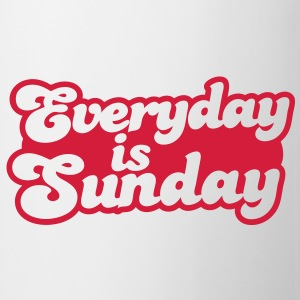everyday is sunday T-Shirts - Mug