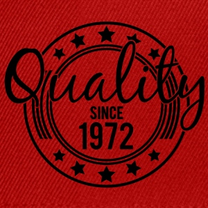 Birthday - Quality since 1972 (es) Camisetas - Gorra Snapback