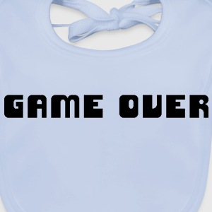 Game Over Kinder shirts - Bio-slabbetje voor baby's
