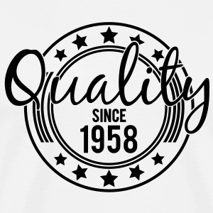 Birthday - Quality since 1958 (es) Camisetas de manga larga - Camiseta premium hombre