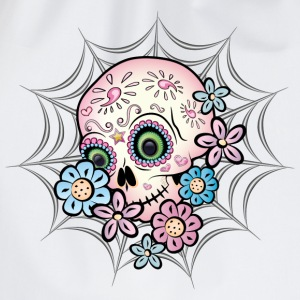 Sweet Sugar Skull Hoodies & Sweatshirts - Drawstring Bag